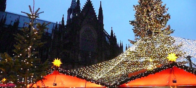 AmaWaterways Christmas on the Rhine river cruise — Cologne