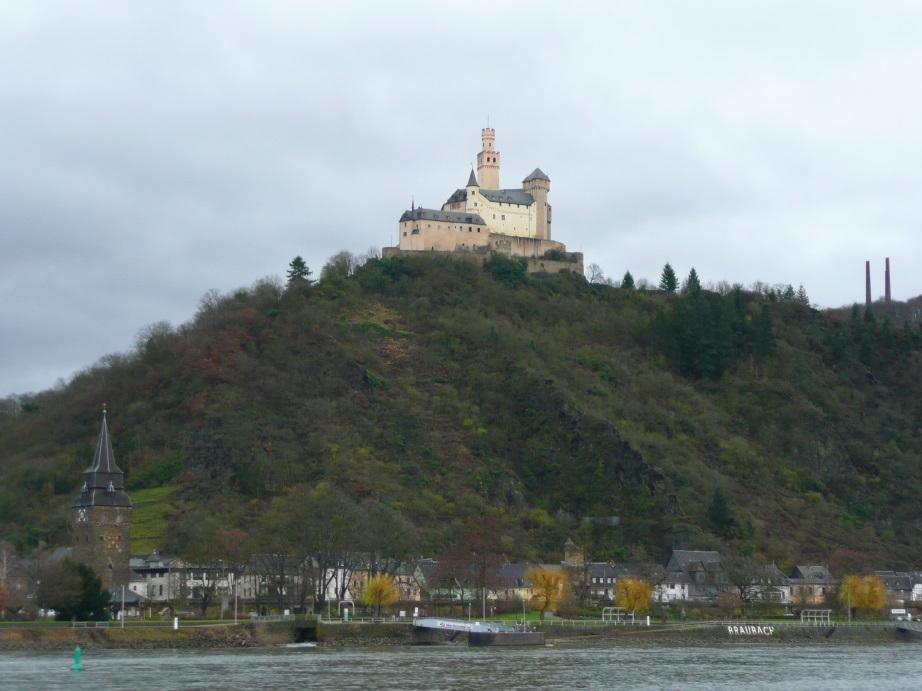 Middle Rhine, Braubach, Marksburg Castle