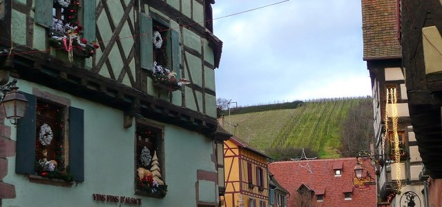 AmaWaterways Christmas on the Rhine river cruise — Riquewihr