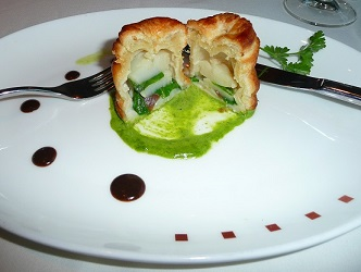 The Olympic scallop Wellington